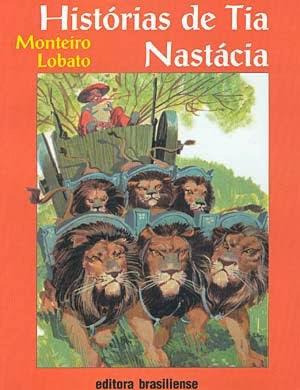 histórias de tia nastácia - monteiro lobato - editora brasiliense - sítio do picapau amarelo - manoel victor filho - jacob levitinas - década de 1990 - década de 2000 - capa de livro - bookcover