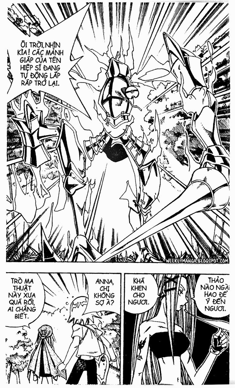 Shaman King [Vua pháp thuật] chap 153 trang 19