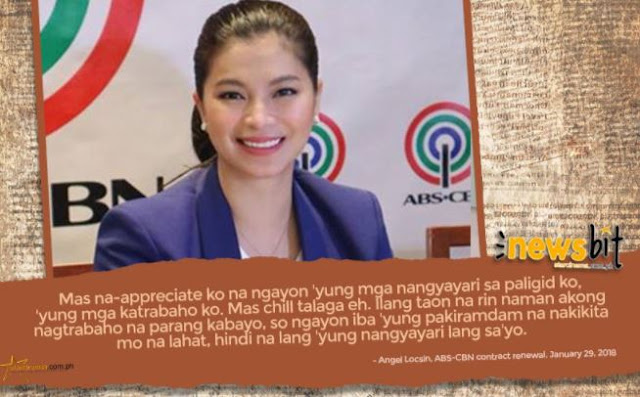 LOOK: Angel Locsin Revealed Some Changes In Her Life As A Kapamilya Artist