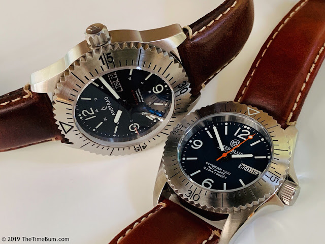 Anstead Oceanis and Deep Blue Defender 1000 40mm