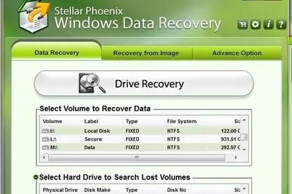 برنامج Stellar Phoenix Windows Data Recovery
