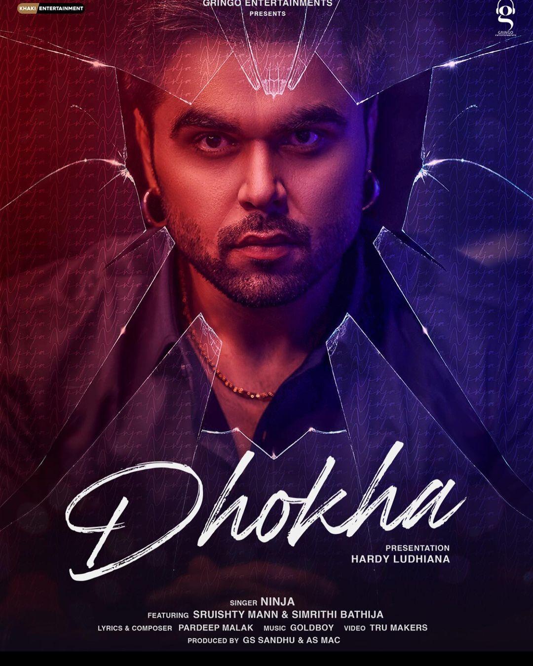 Dhokha lyrics (NINJA)
