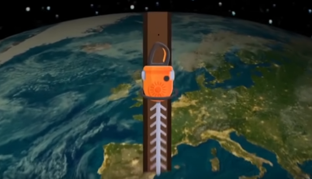 Menggali terowongan ke pusat bumi