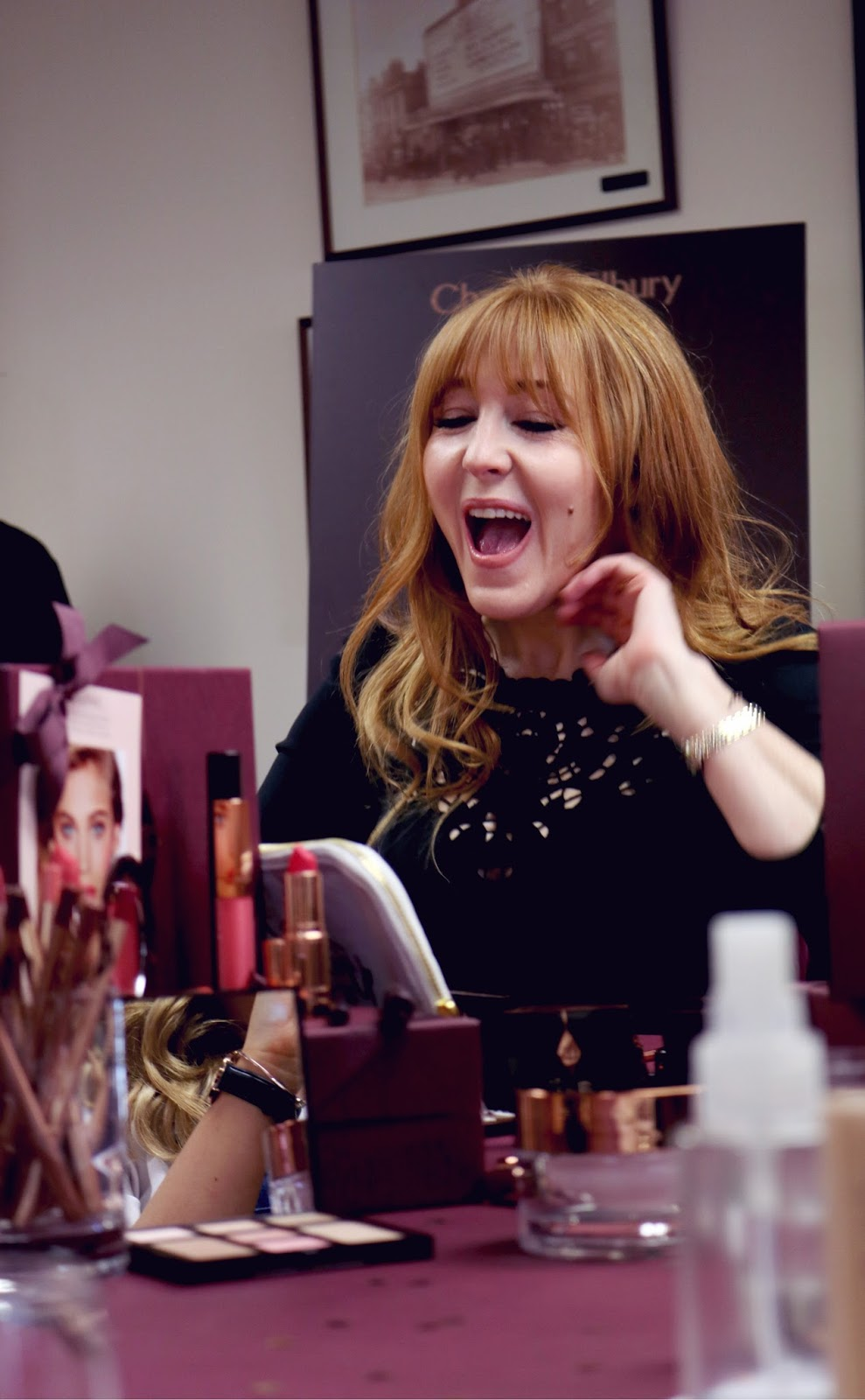 Charlotte Tilbury at Fenwicks Newcastle