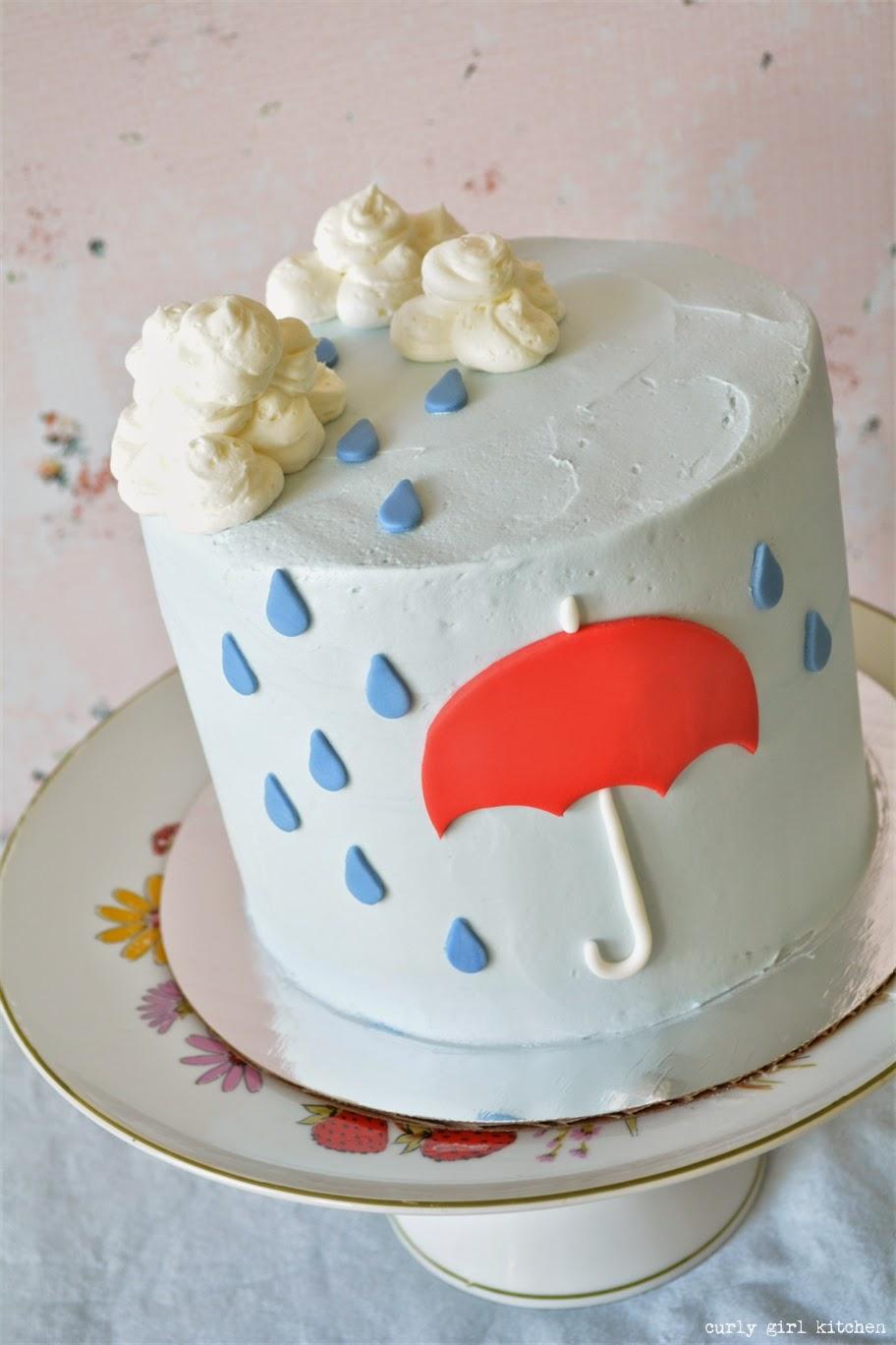 Curly Girl Kitchen Rain Rain Cake