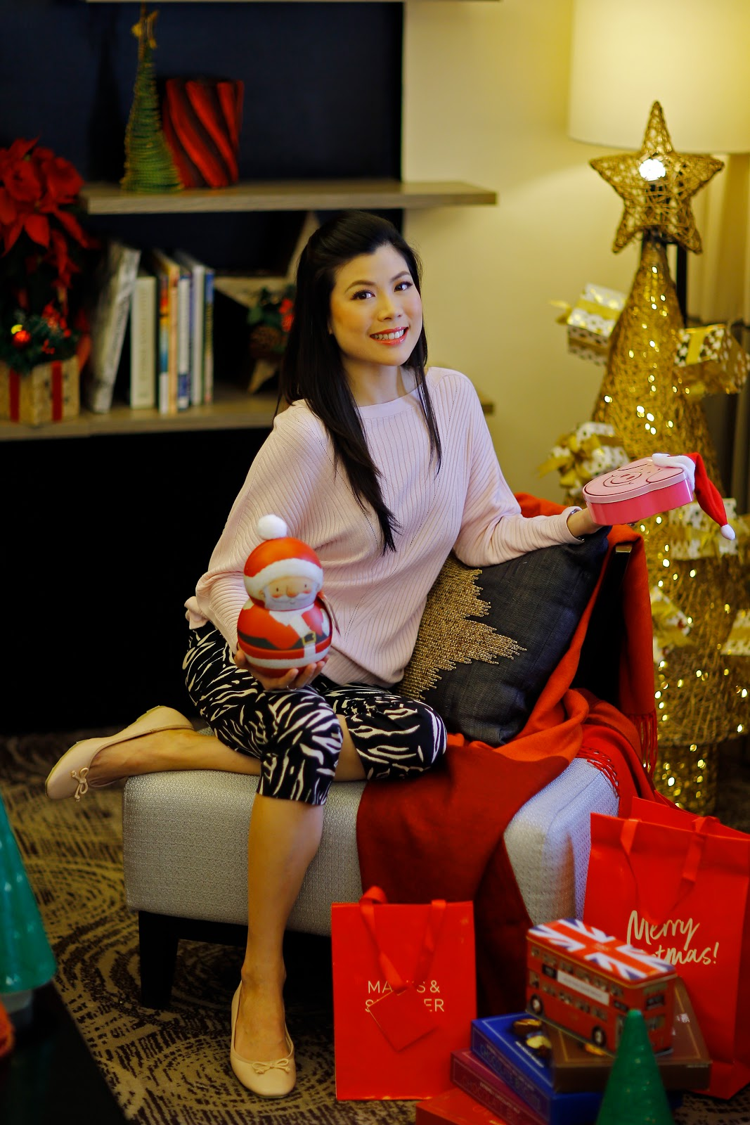 Marks and Spencer, Nicole Has Bian, Cebu Mommy Blogger, Christmas Gift Ideas, Christmas Shopping, Cebu Lifestyle Blogger