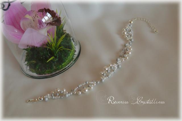 bracelet mariage précieux et romantique