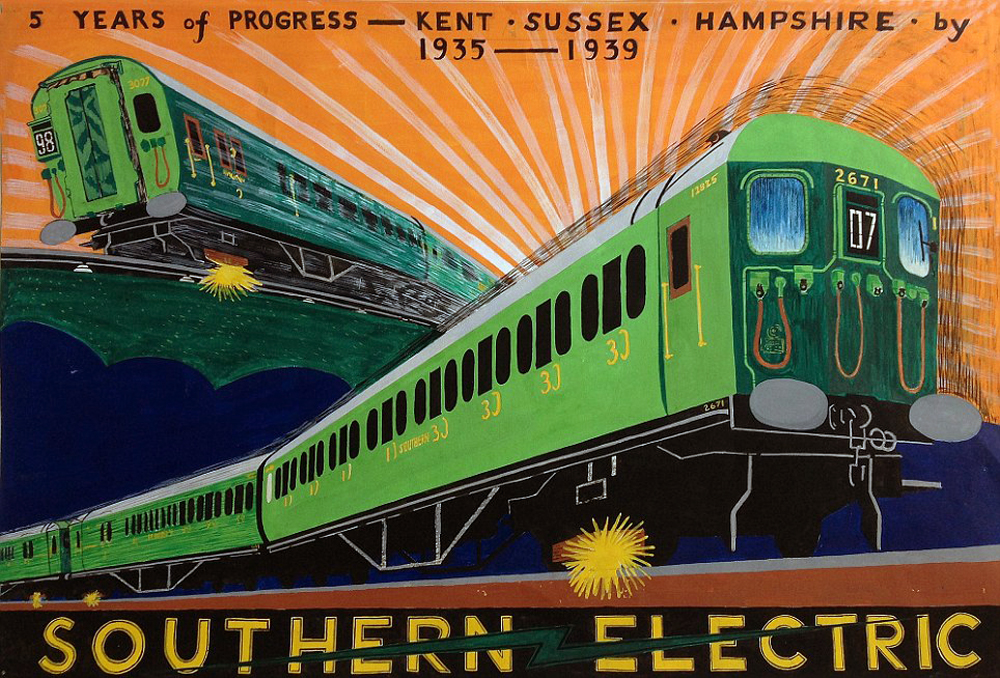 Image result for southern Electric Trains