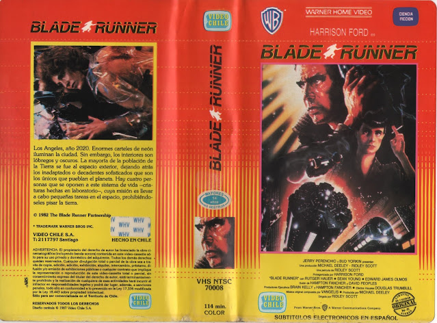 "Pelicula: ""Blade Runner"" - Version de 1982"