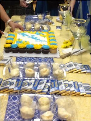 Releif Society Birthday Dessert Table