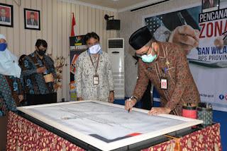 Sudirman : Pemprov Jambi Dukung Pembangunan Zona Integritas BPS