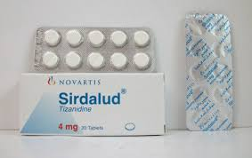 سعر أقراص سيردالود Sirdalud لعلاج التقلصات العضلية