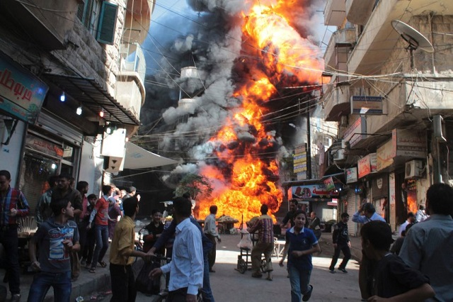 Kematian Meningkat Di Aleppo Akibat Serangan Tentera Regim Bashar Asad