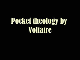 Pocket theology by Voltaire
