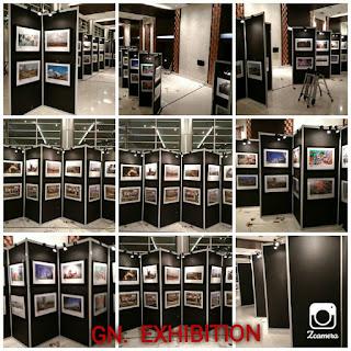 Pemasangan Panel Photo Hitam di Hotel Sentika Harapan Indah Bekasi