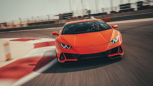 A person buys Lamborghini from the money of coronavirus help