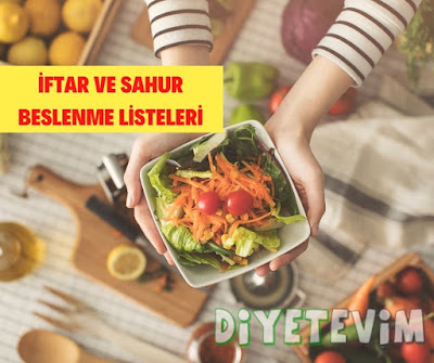 ramazandan sağlıklı beslenme