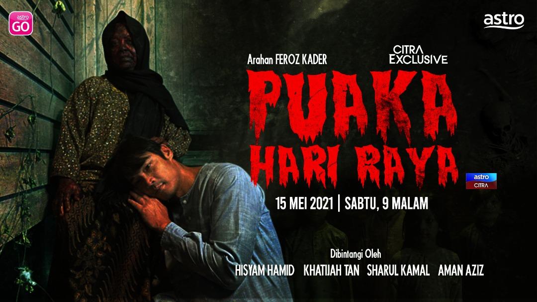 Puaka Hari Raya Lakonan Hisham Hamid, Khatijah Tan