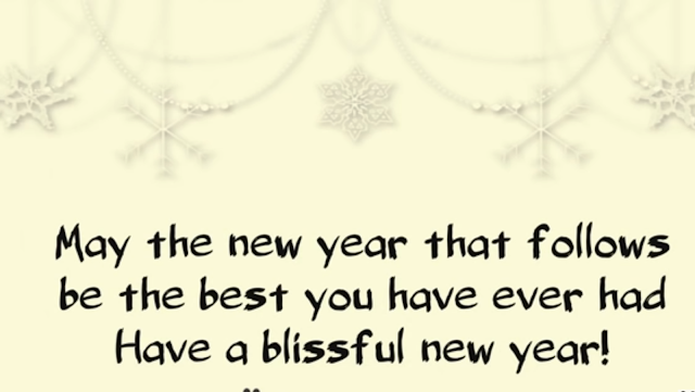 BEAUTIFUL HAPPY NEW YEAR GREETINGS