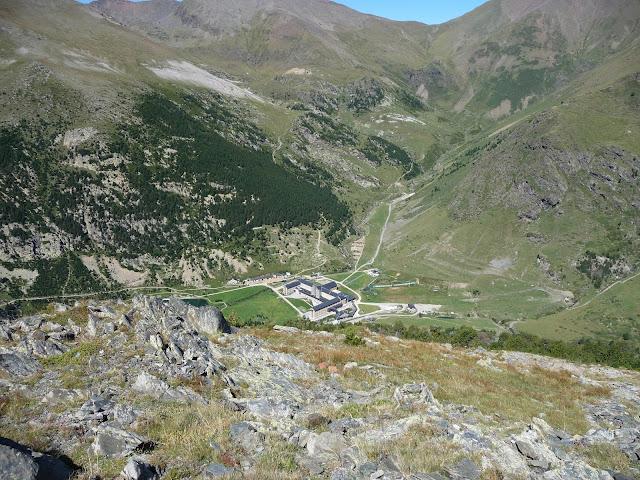Vista de La Vall de Núria
