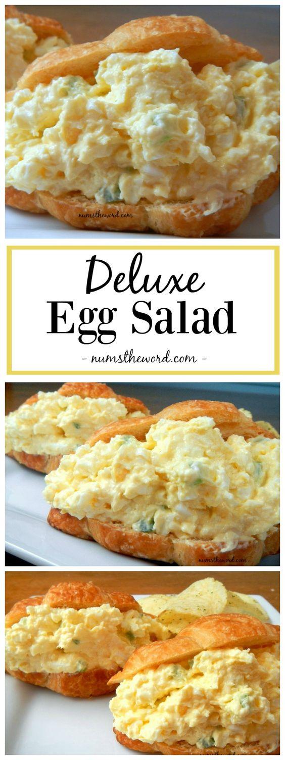★★★★☆ 1328 ratings    | Deluxe Egg Salad #Deluxe #Egg #Salad #Vegetarian #Yummy