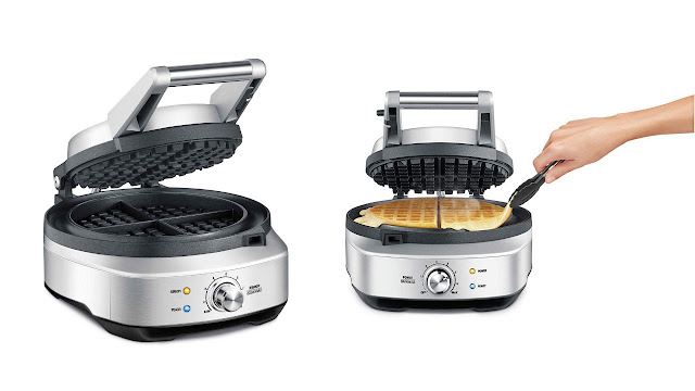 Breville the No-mess Waffle Makers BWM520