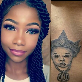 Girl Who Tattooed Davido On Her Body Reportedly Gone Missing