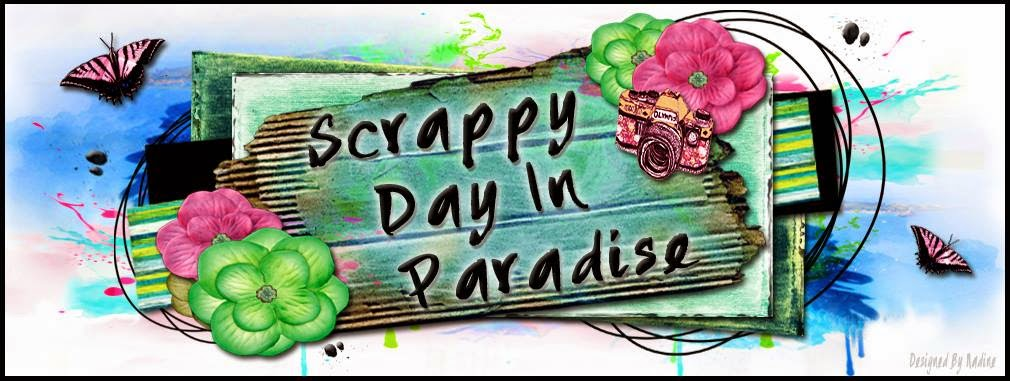 Scrappy Day in Paradise