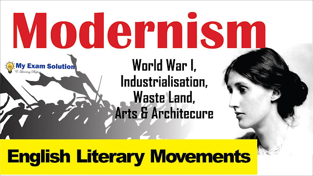 modernism, modernism in english literature, english language, modernist writer in english, english modernist writers, modernism essay, modernism critical essay