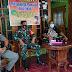 Babinsa Bersama Kades dan Satpol PP Jatiroyo Lakukan Kesiapan Posko Jogo Tonggo