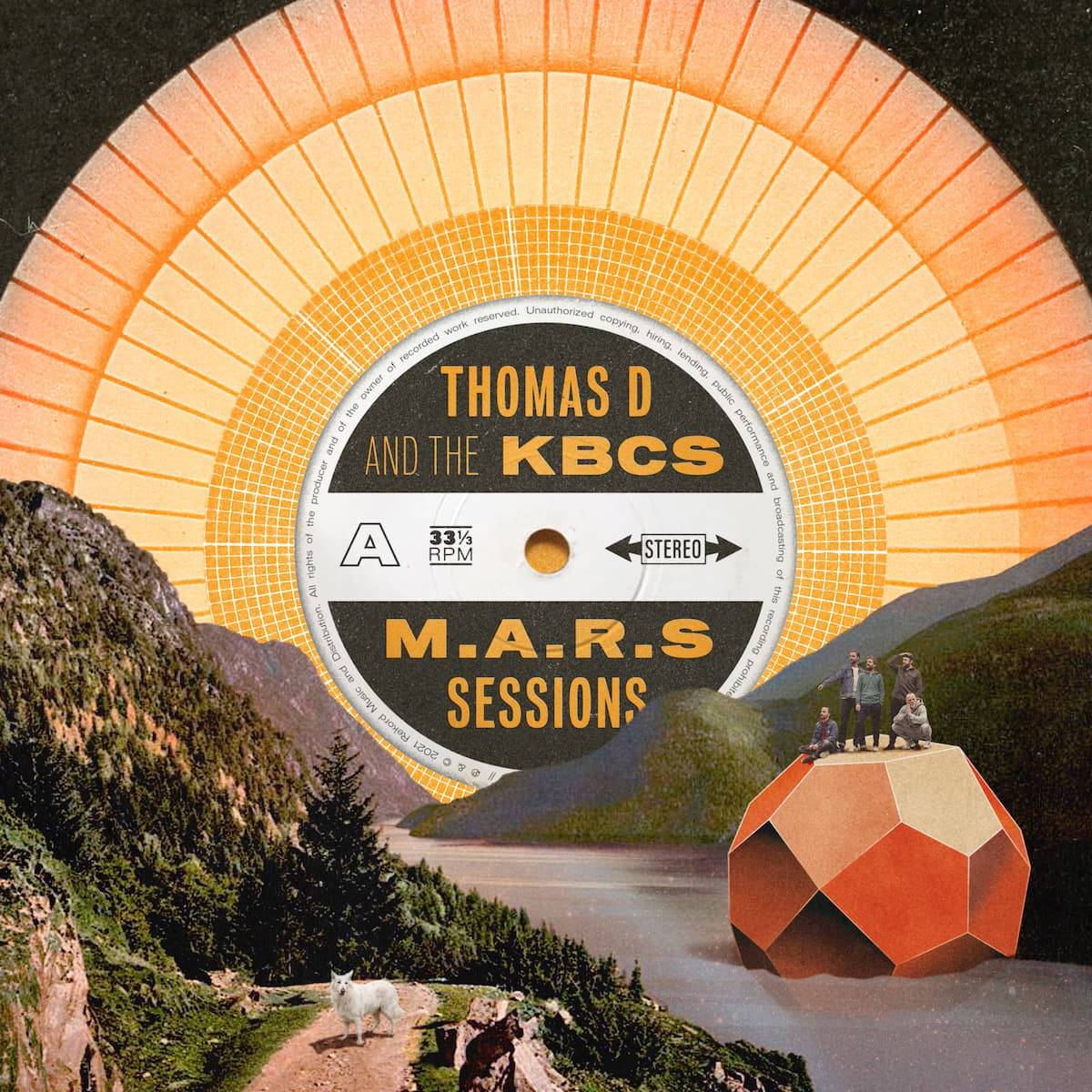Thomas D and the KBCS -THE M.A.R.S SESSIONS | Musikvideo 'Show' - Albumtipp