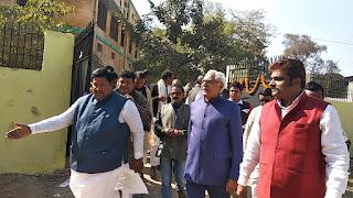 छपरा लक्ष्मी नारायण यादव अध्ययन केंद्र का उद्घाटन करने पहुचे नव नियुक्त कुलपति डॉ राजेन्द्र प्रसाद