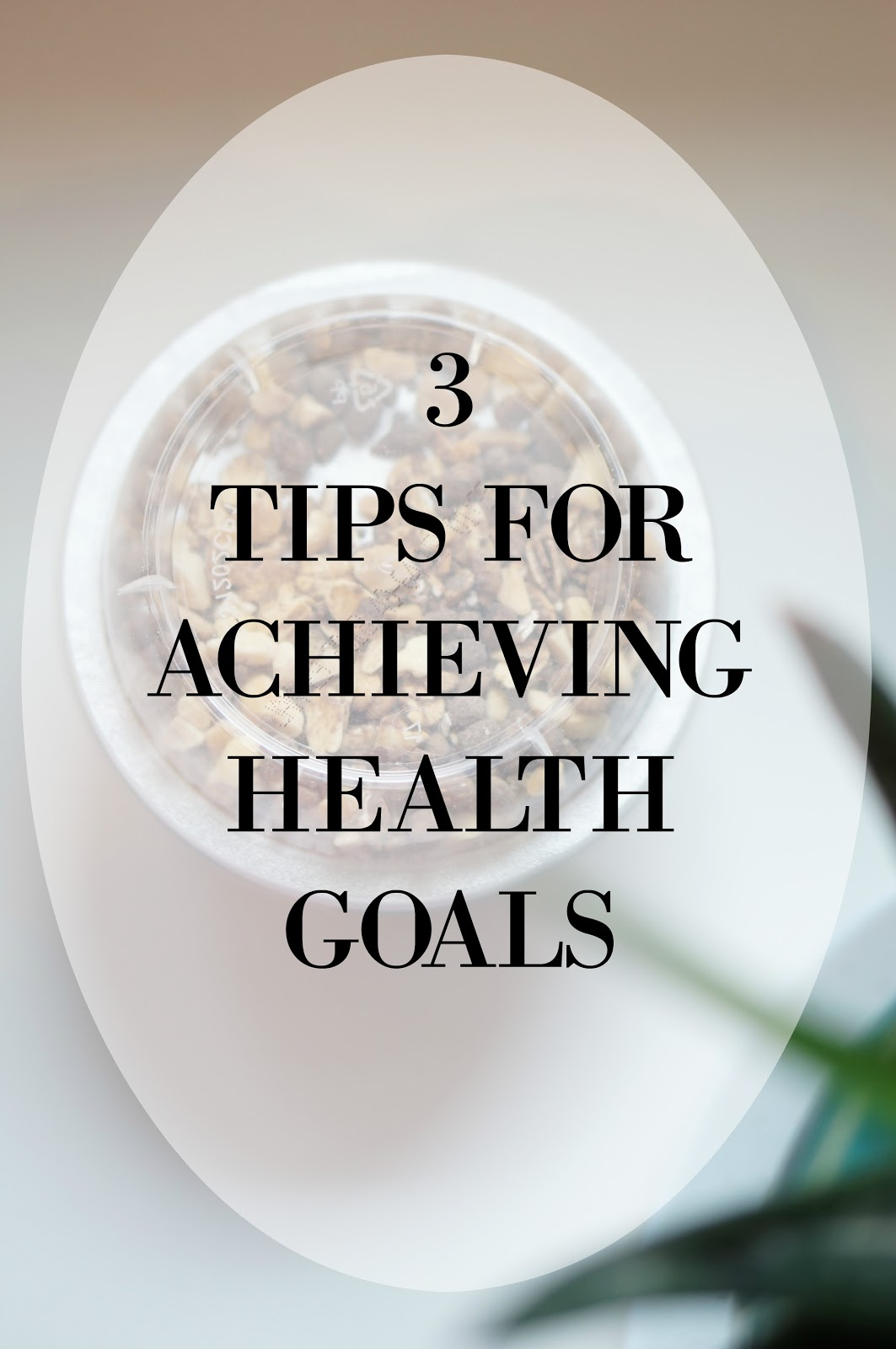 3 WAYS TO STAY ON TRACK WITH HEALTH GOALS by popular North Carolina lifestyle blogger Rebecca Lately