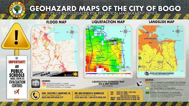 City of Bogo Geohazard Maps