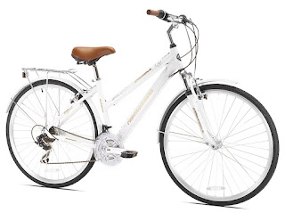 Northwoods Ladies Springdale 21 Speed Hybrid Bicycle, picture, image, review features and specifications