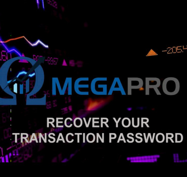 OmegaPro, Recover Your Transaction Password
