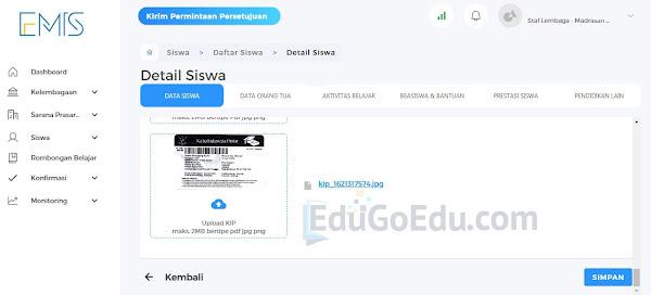 Edit Data Siswa di EMIS 4.0 Madrasah
