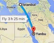 Türkiye'den Yanbu'ya Nasıl Gidilir?