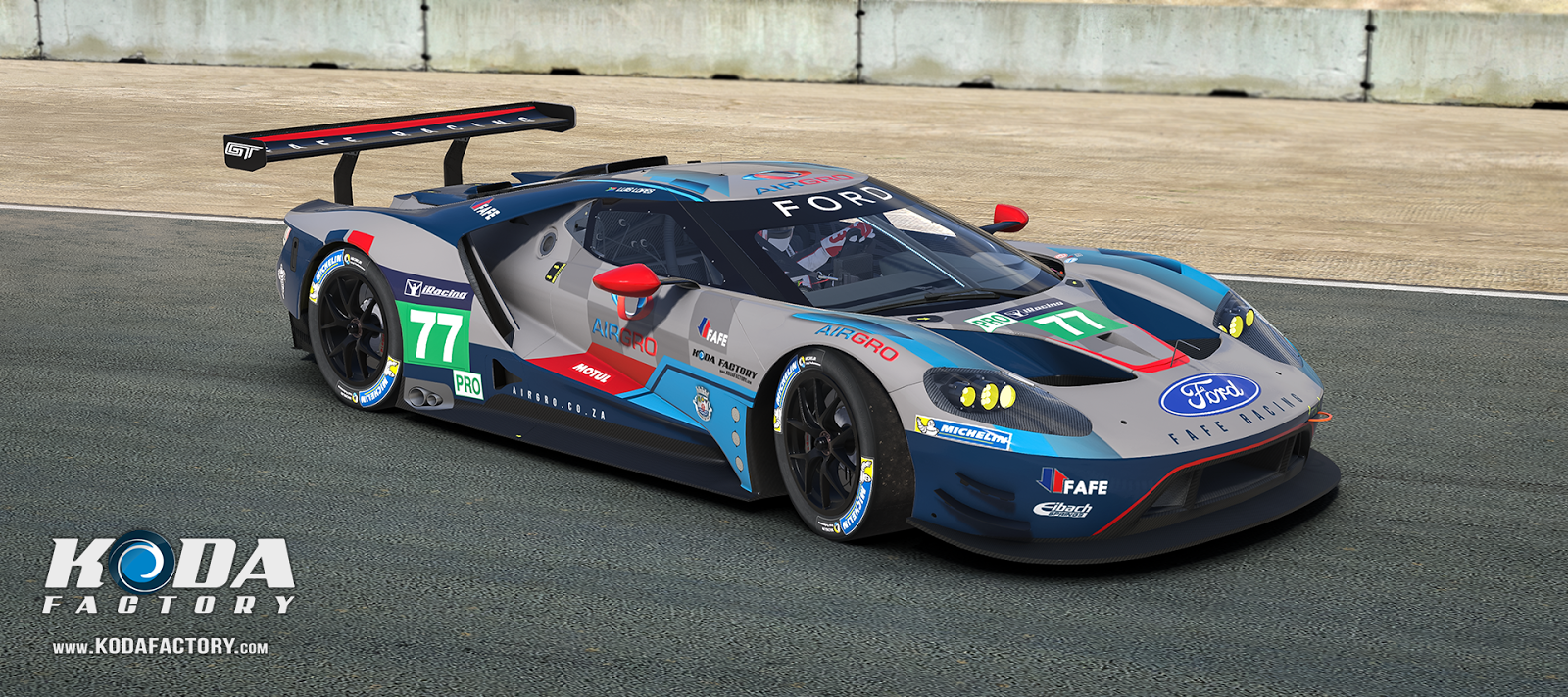 Fafe Racing Ford Gt  Iracing