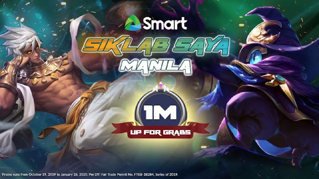 Gear up for the biggest Mobile Legends: Bang Bang gathering in Smart Siklab Saya Manila