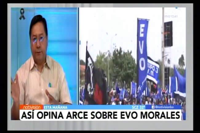 Luis Arce opina sobre las acusaciones que pesan sobre Evo Morales por pedofilia y estupro