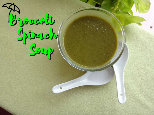 Broccoli Spinach Soup