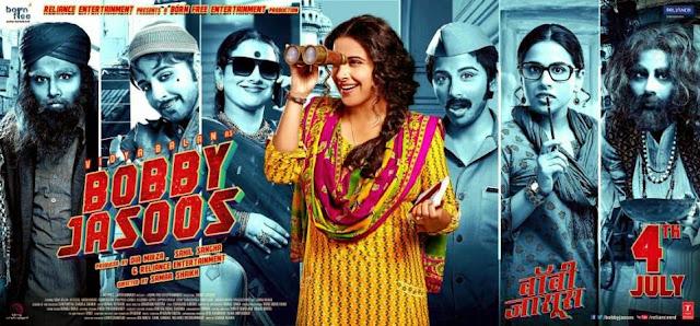 Bobby Jasoos 2014 Hindi 720p DVDRip x264 950MB ESub AC3 5.1