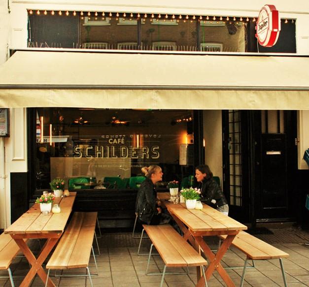 Bitterballen e Birra nel quartiere De Pijp amsterdam
