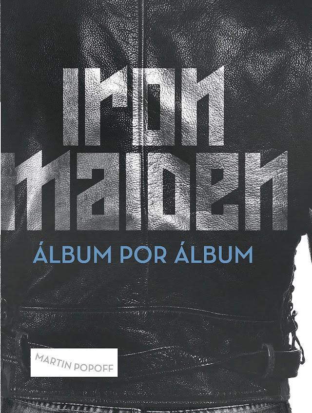 "Livro ""Iron Maiden: Álbum por Álbum"" é lançado no Brasil"