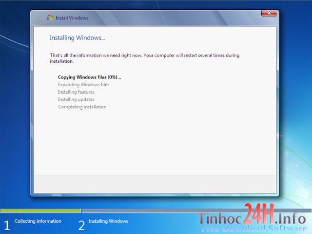 cài đặt windows 7 bước 8