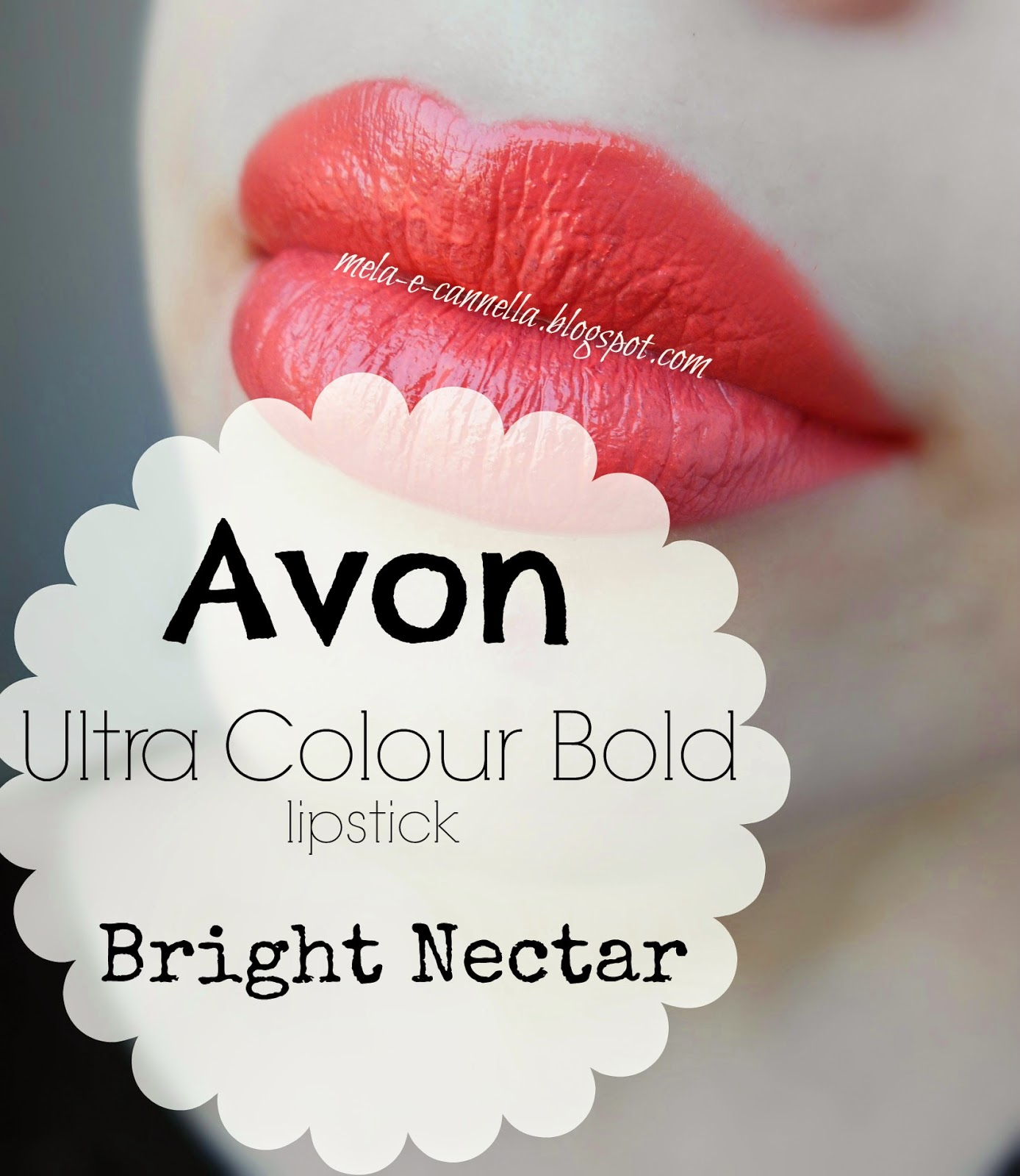 Mela E Cannella Avon Ultra Colour Bold Lipstick Bright Nectar
