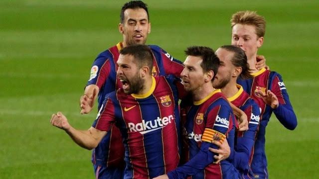 ملخص مباراة برشلونة وفالنسيا (2-2) اليوم السبت في الدوري الاسباني