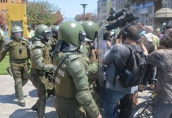 Informe sobre agresiones a periodistas  durante estado de emergencia