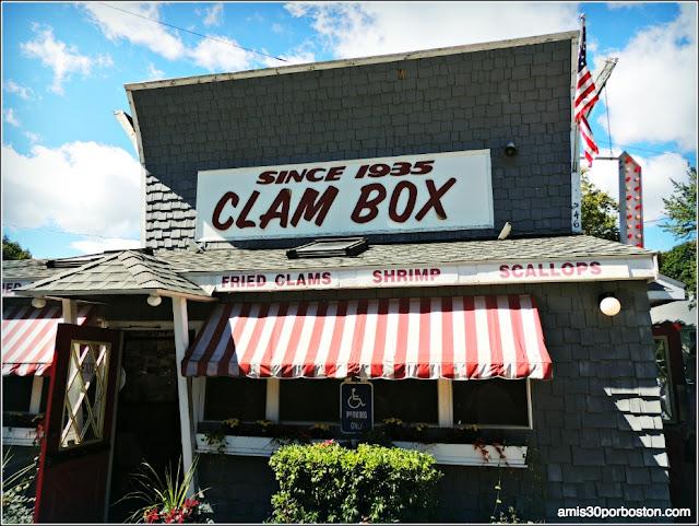 Lobster Shacks en Massachusetts: Clam Box